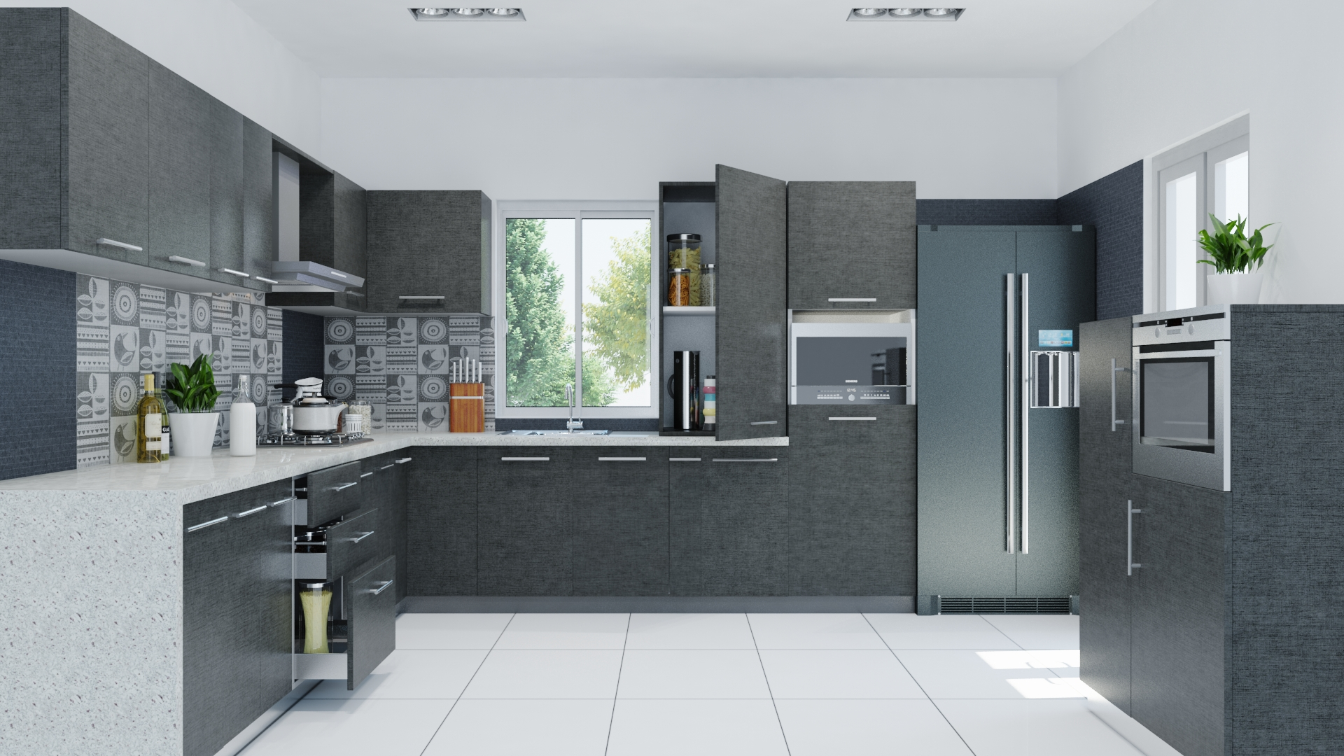 Kitchen Design Trends | Two Tone Color Schemes | Interior ...