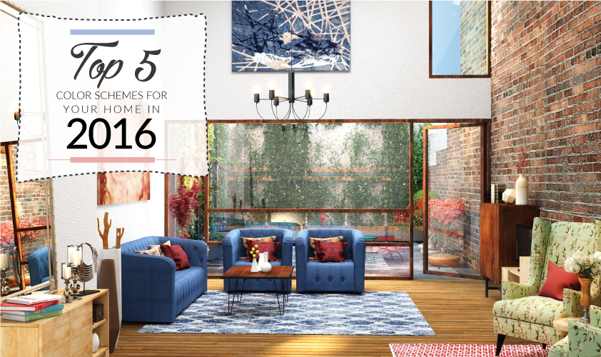 Trends   Top 5 Color Schemes For Your Home This Spring 2016