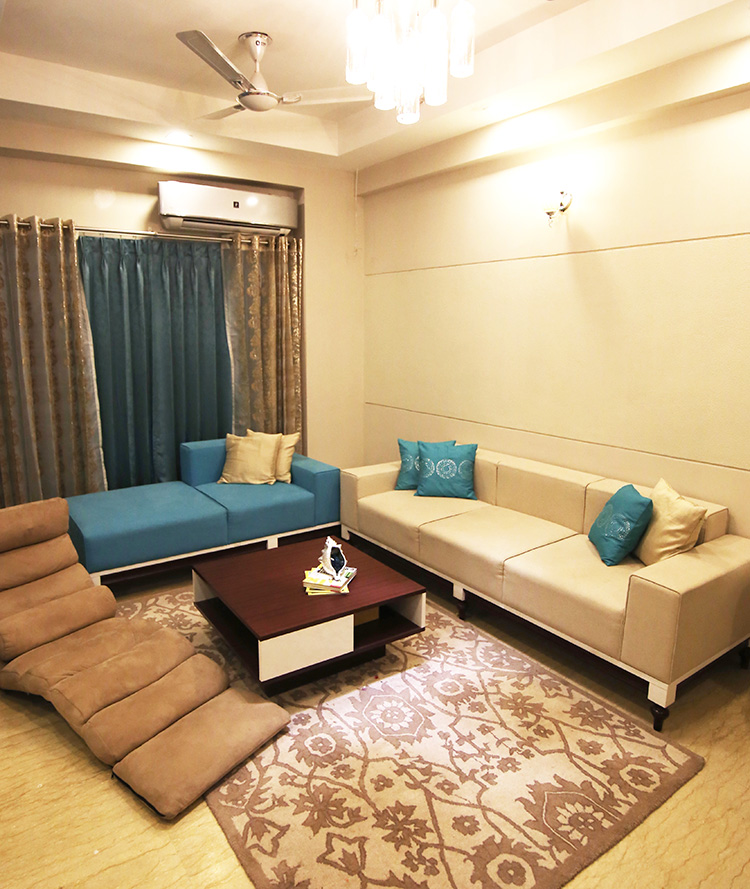 Living Room Design Magazine: A Modern-Chic Home In Noida That Got Guests Talking