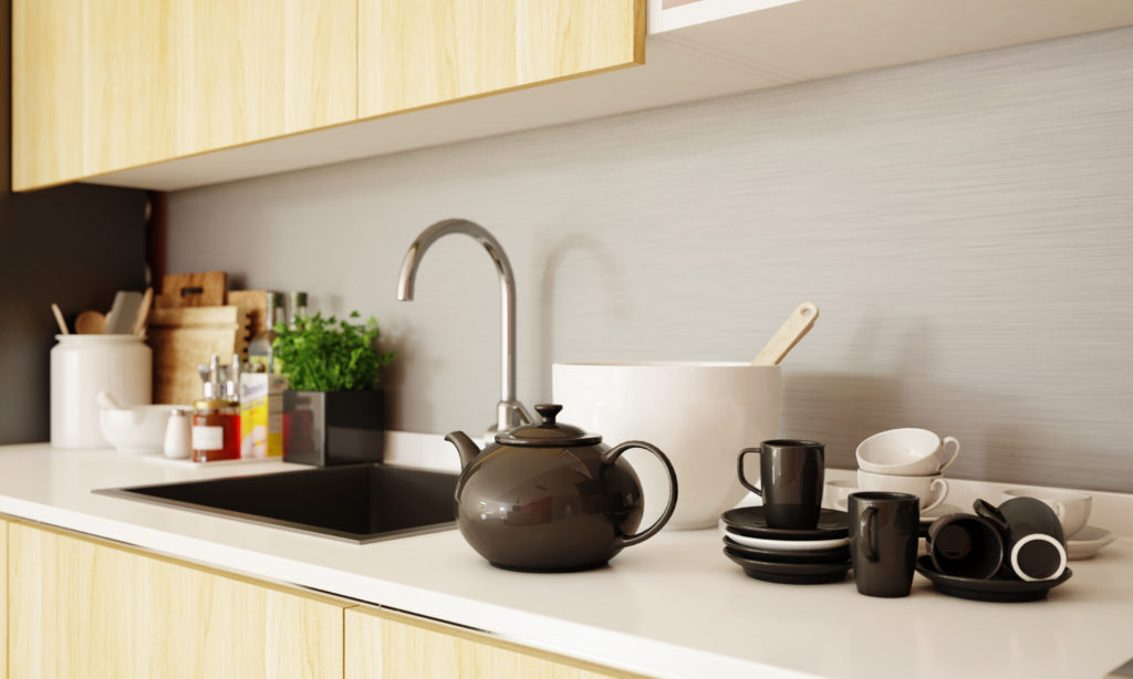 Kitchen for senior citizens - sink