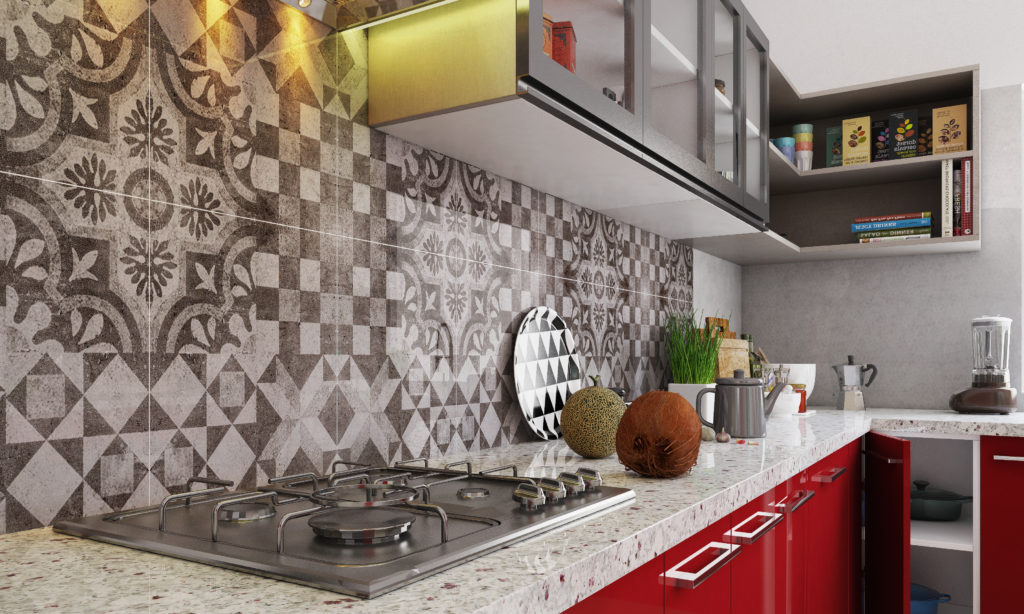 Kitchen for senior citizens - countertop