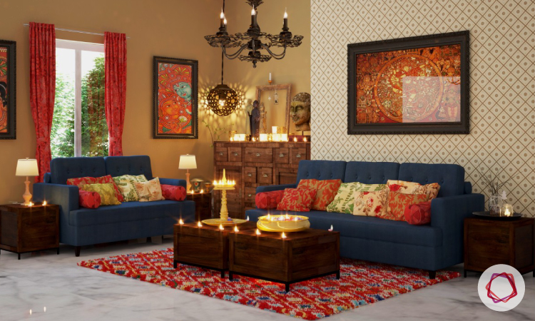 Ethnic Interior Design And Furniture Penang ~ Essential elements of traditional indian interior design