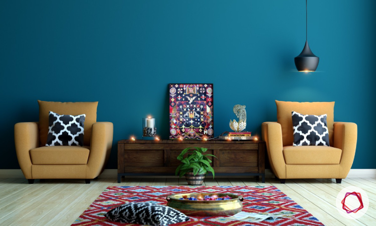 Tradition Indian Style Interiors With Handicrafts