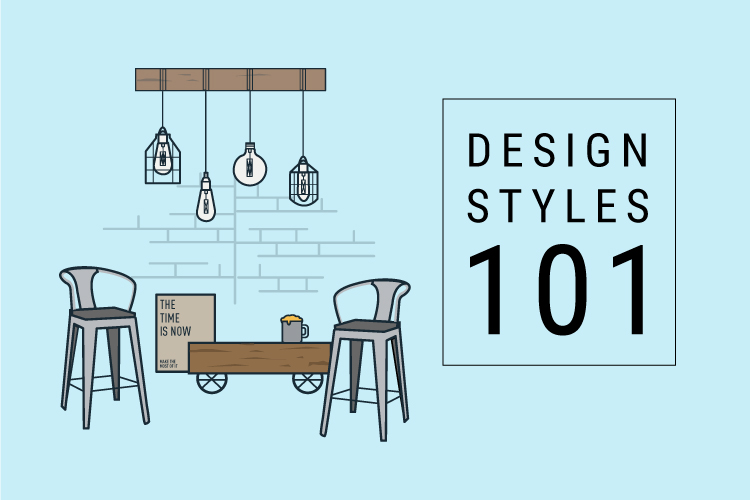 Printable Infographic: Design Styles 101