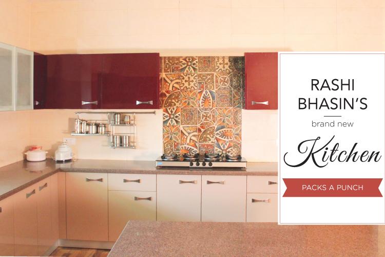 Rashi Bhasin's Brand New Kitchen Packs A Punch