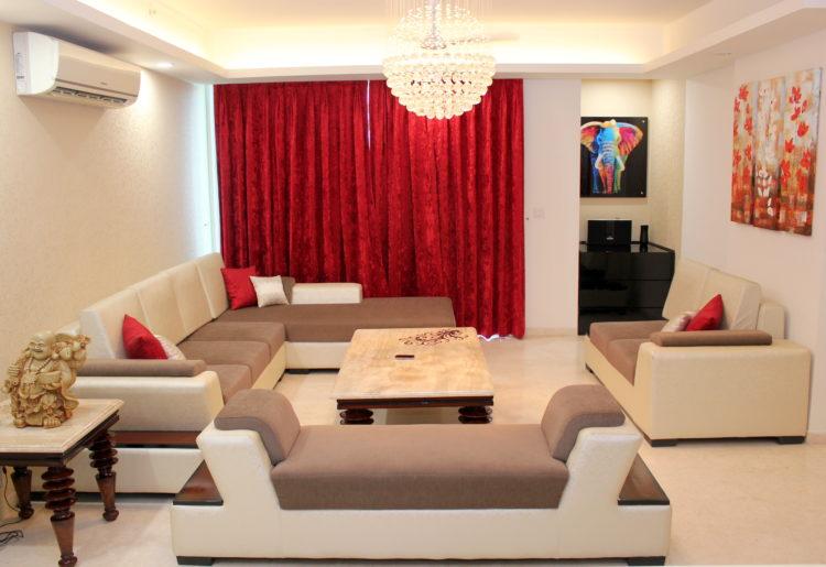 Livspace Living Room Designs