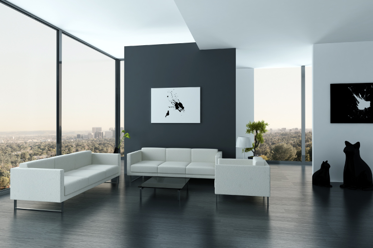 Minimalist Interiors Living Room