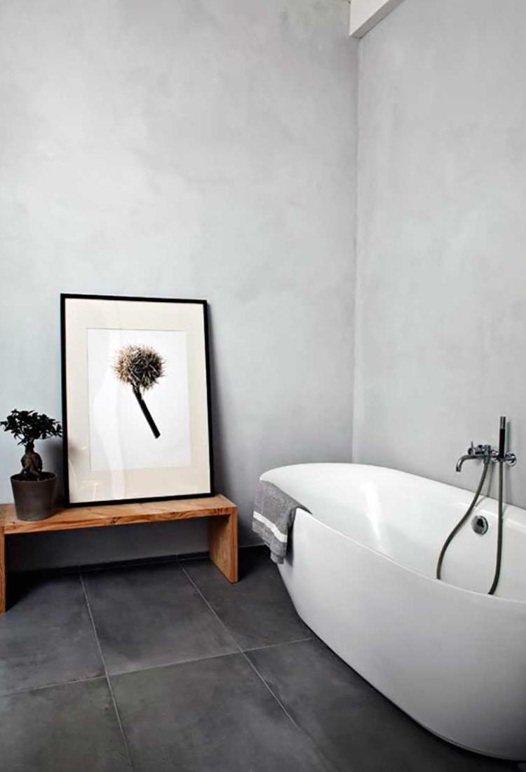 minimalist decor bathroom