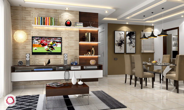 Shelf Stunners Tv Wall Design Shelf
