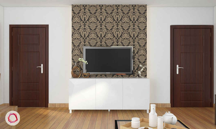 Ornate Allure Tv Wall Design Classic