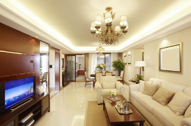 Cove Lighting In Living Room