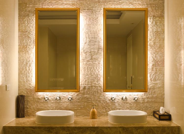 Cove Lighting In Bathroom