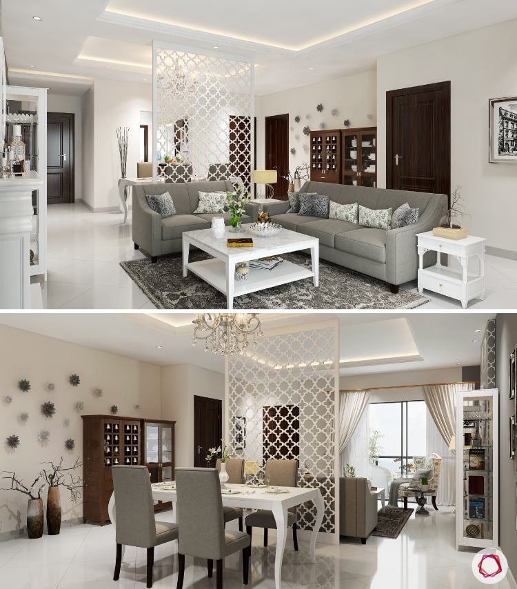 Living Room How To Setup A Small Living Room Area: 8 Tips On How To Separate Living And Dining Areas