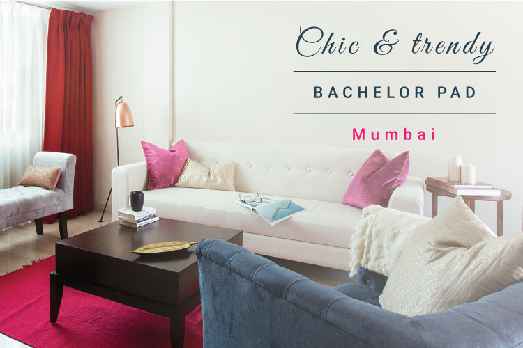 A Chic And Refreshing Update To A Mumbai Bachelor Pad