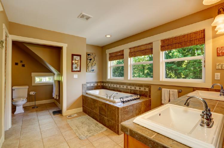 Ceramic Tiles Bathroom Flooring