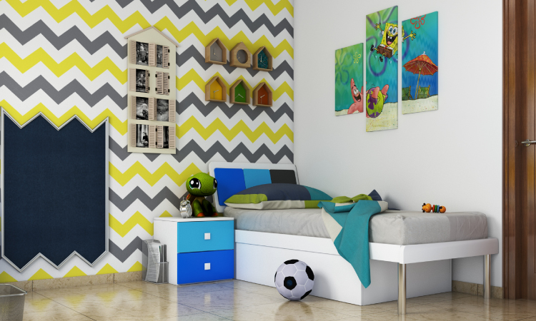 7 Refreshing Accent Wall Ideas For Kids' Rooms