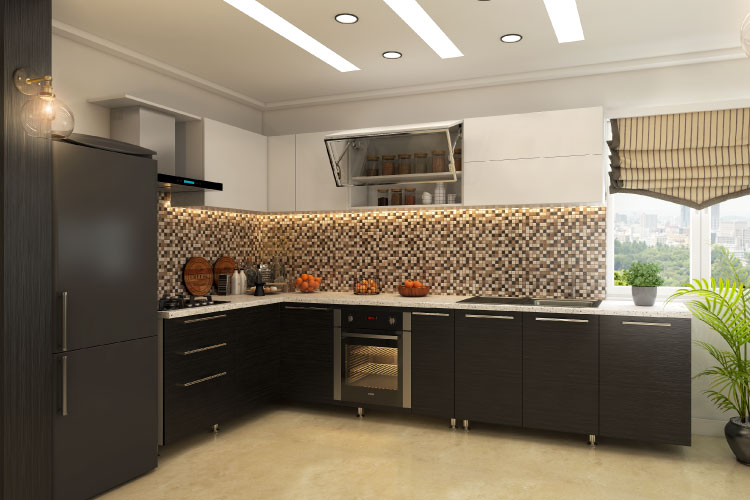 Traditional vs lift up the better modular kitchen cabinet system for Traditional indian kitchen design