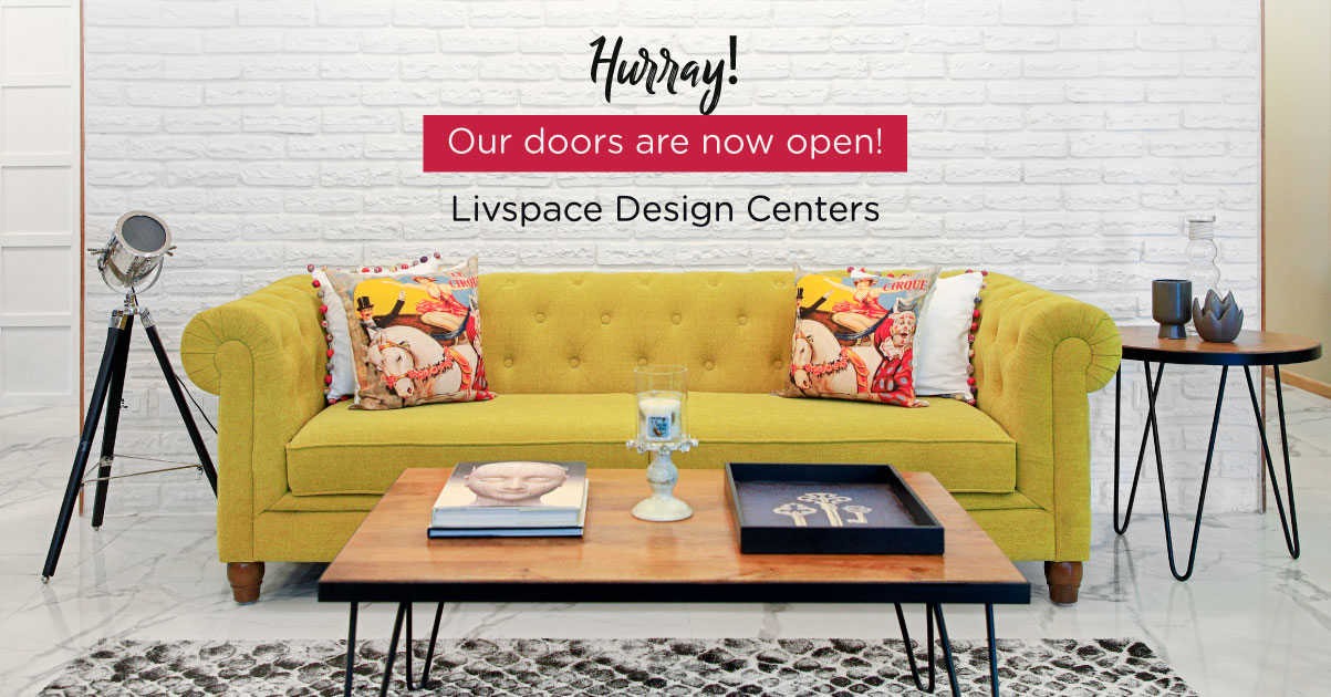 Livspace News: Say Hello To Our Design Centers