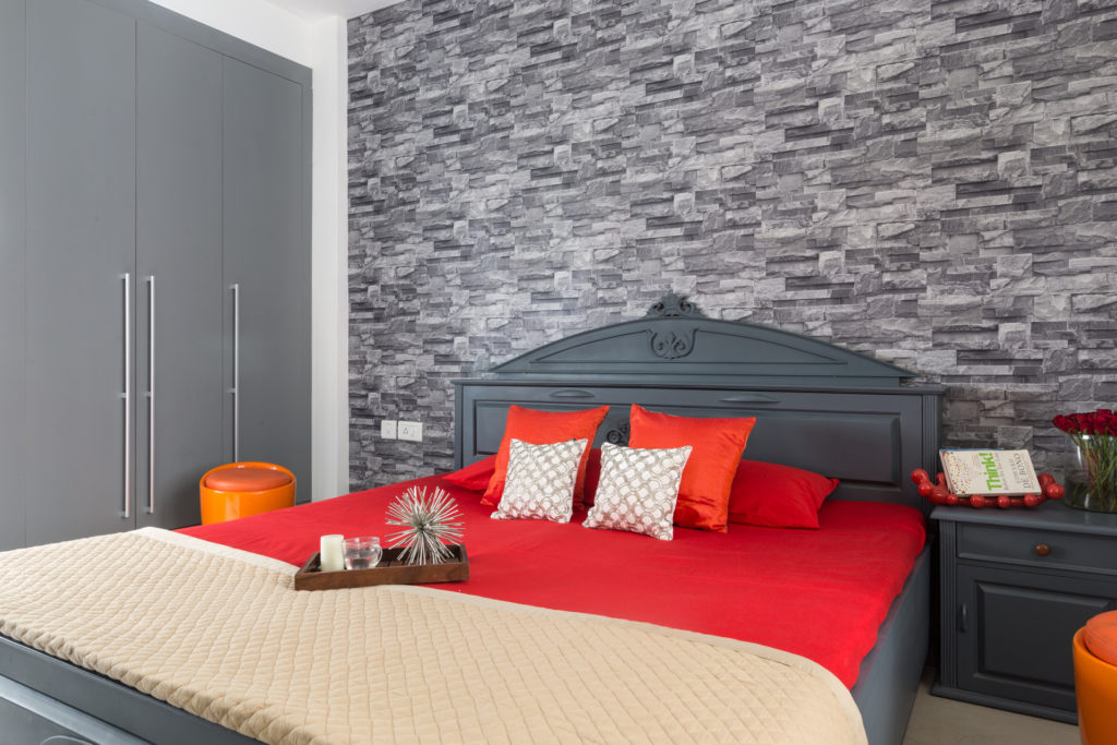 Bedroom Accent Wall #1: Texture Tales