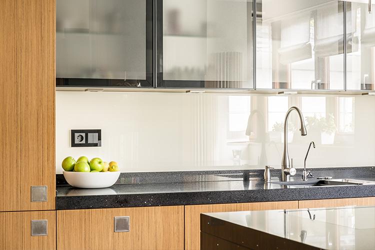 One-Piece Kitchen Countertop And Sink Designs