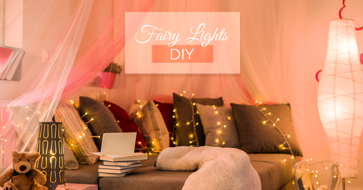 Stay Festive All Year Long With Fairy Lights!