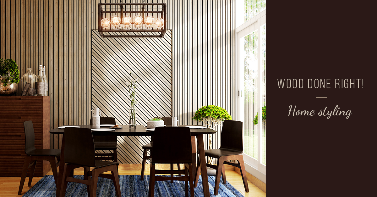 6 Tips On How To Use Wood Elements In Your Home Decor