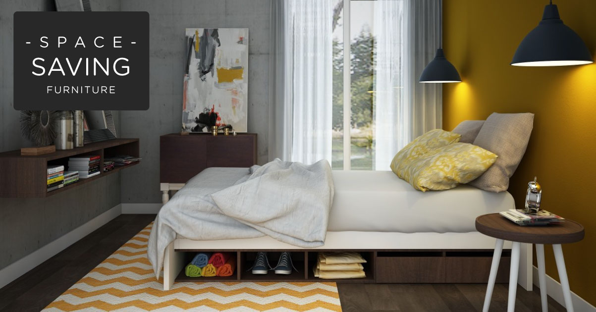 Space Saving Furniture Ideas You Will Love!