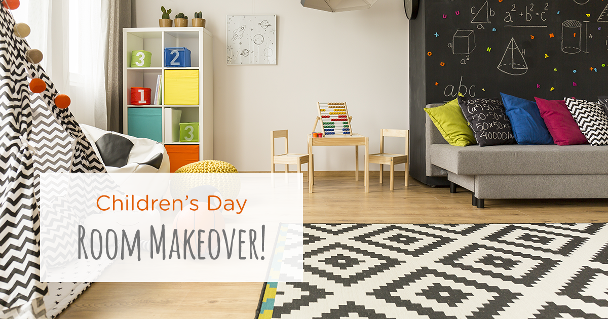 Easy And Fun Makeover Ideas For Your Kids' Room