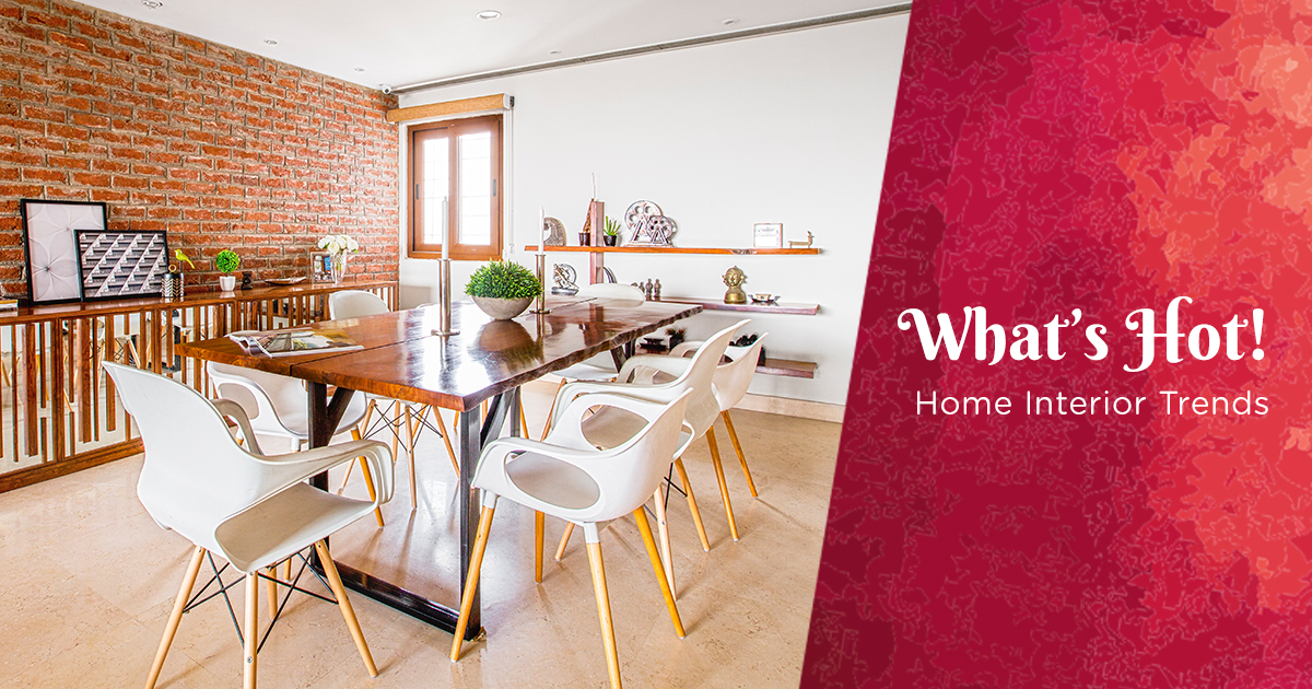 Minimalist To Dressy, Industrial To Splendour: Know What's Hot In Interiors This Season