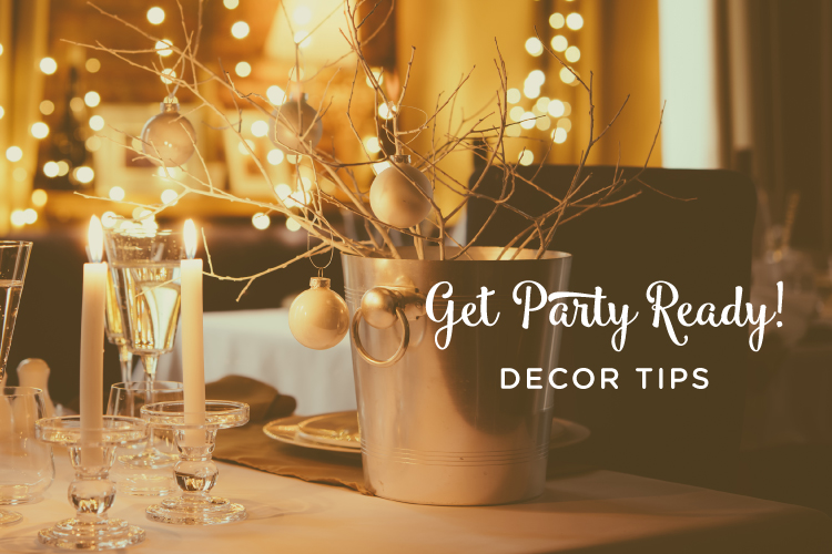 Decor Ideas to Ring in the New!