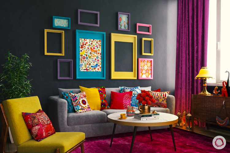 Maximalist Interior Design Style Feature #6: Gallery Wall