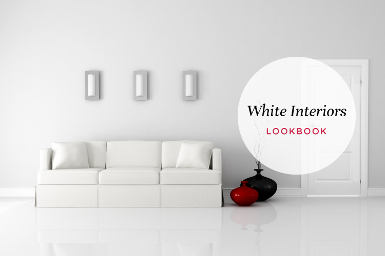 16 Inspiring Designs for an All-White Home