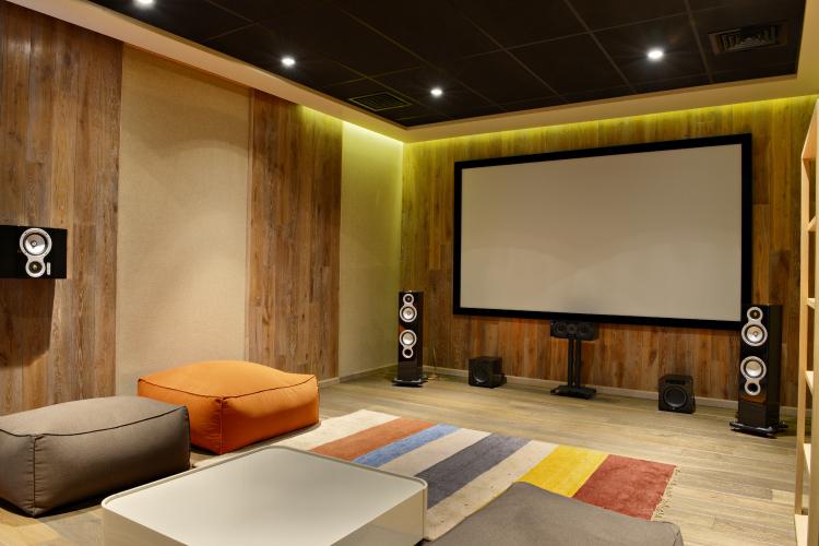 Home theatre designs