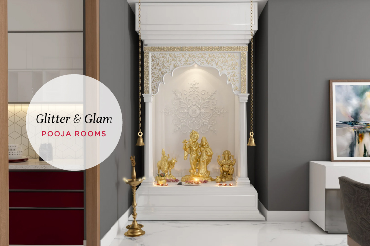 5 Ways to Add a Glittering Effect to Your Pooja Rooms
