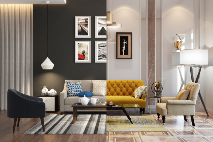 home decor curated vs decorated