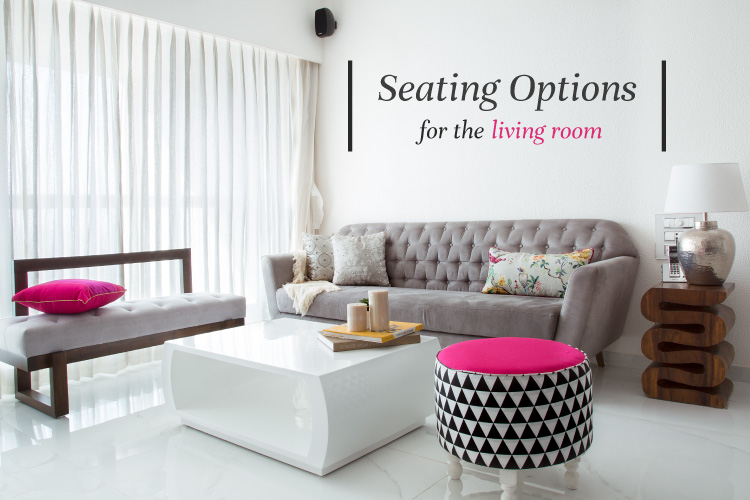 6 Basic Drawing Room Seating Options