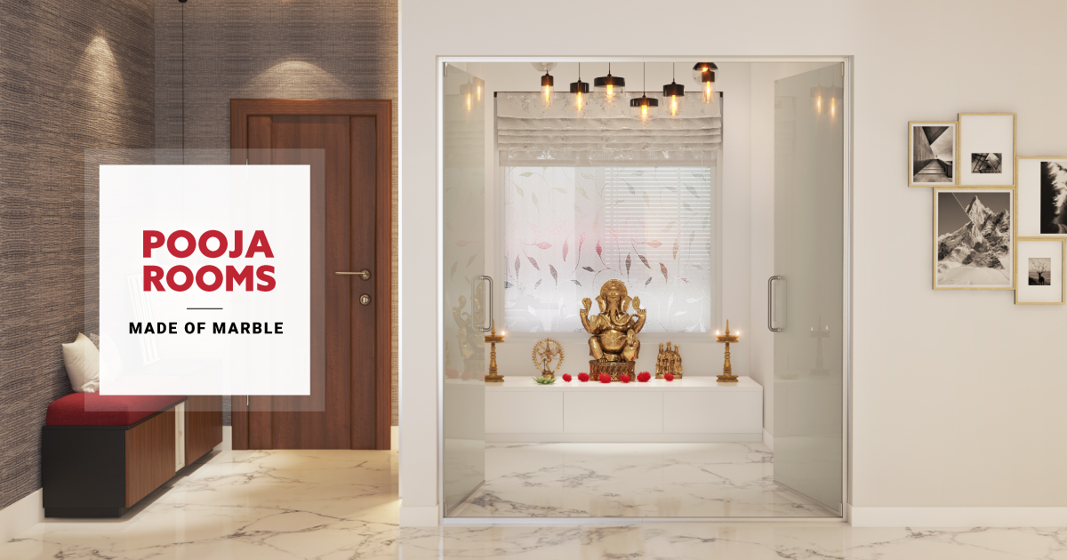 Say it With Marble in Your Pooja Rooms