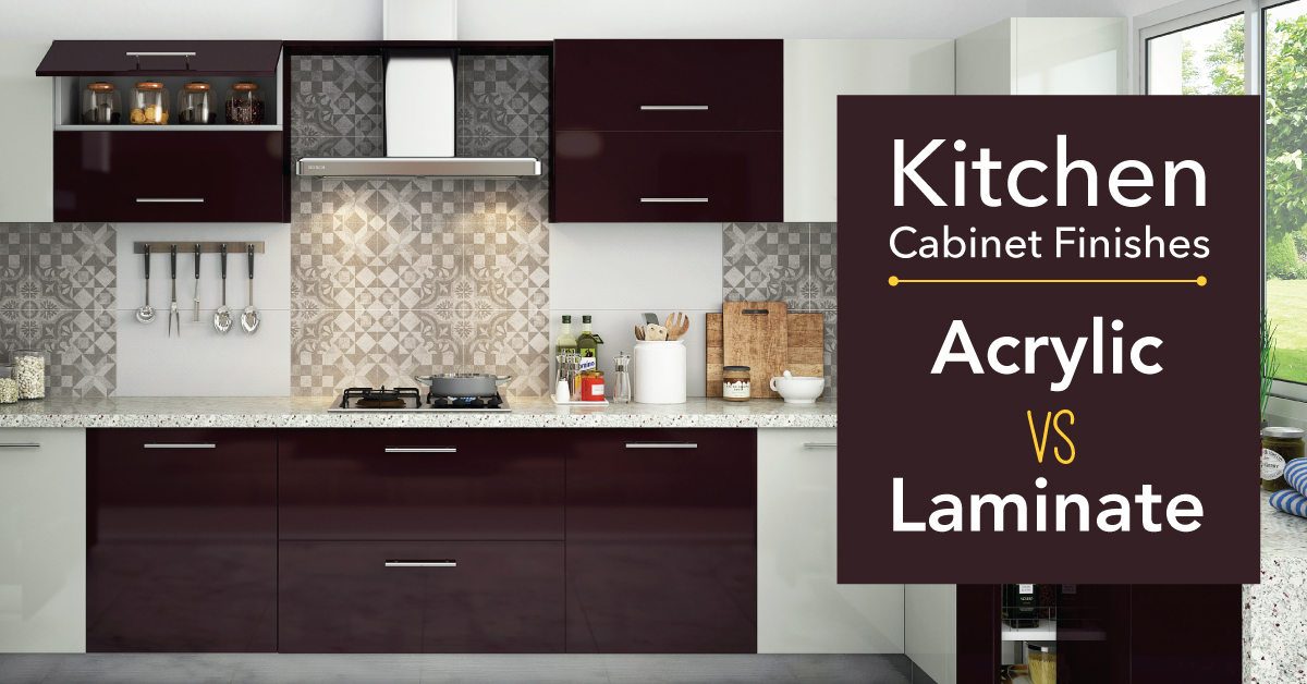Laminate : Whatu0027s The Best Finish For Kitchen Cabinets? | Interior Design  Ideas