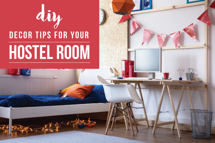5 Easy Budget friendly DIY Hostel Room Decoration Ideas