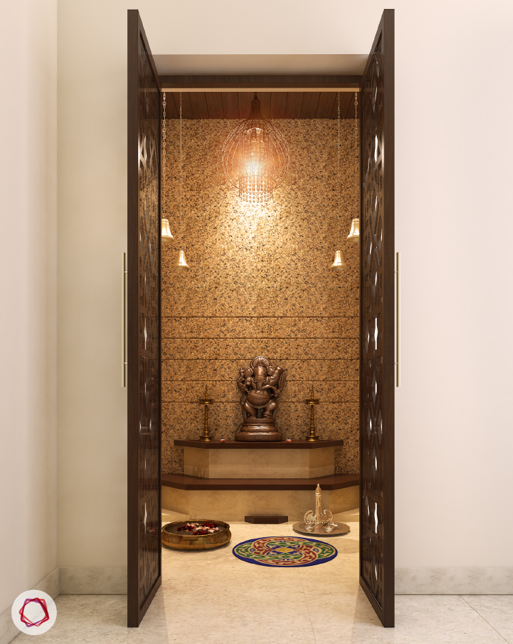 8 Mandir Designs For Contemporary Indian Homes