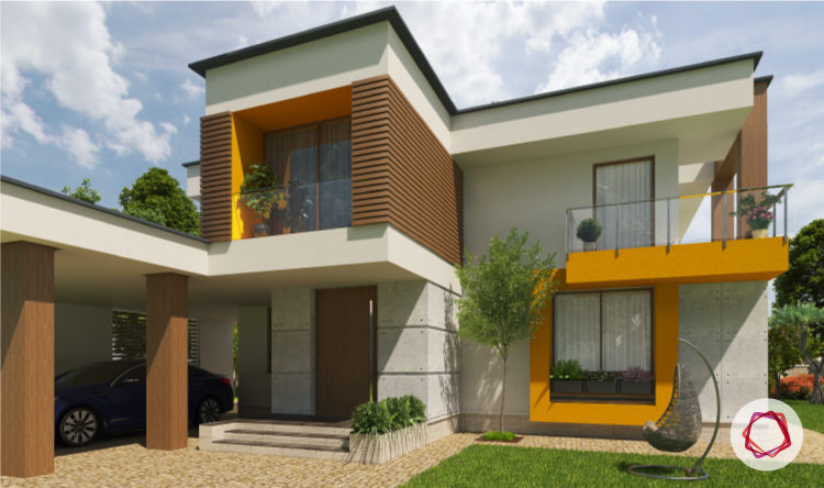 7 ways to pick exterior paint colors for indian homes - Exterior paint color ideas for small homes ...