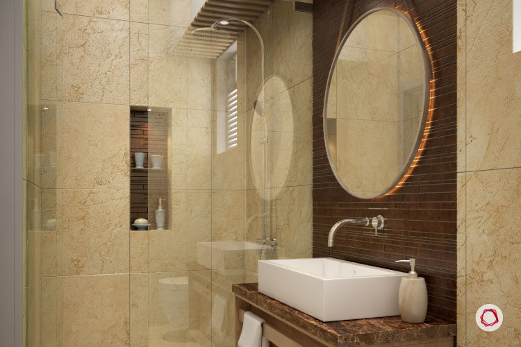 bathroom tiles design india 5 superb small bathroom designs for indian homes 16862