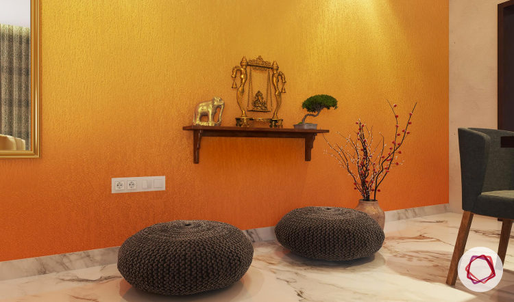 5 Exquisite Pooja Shelf Designs For Walls