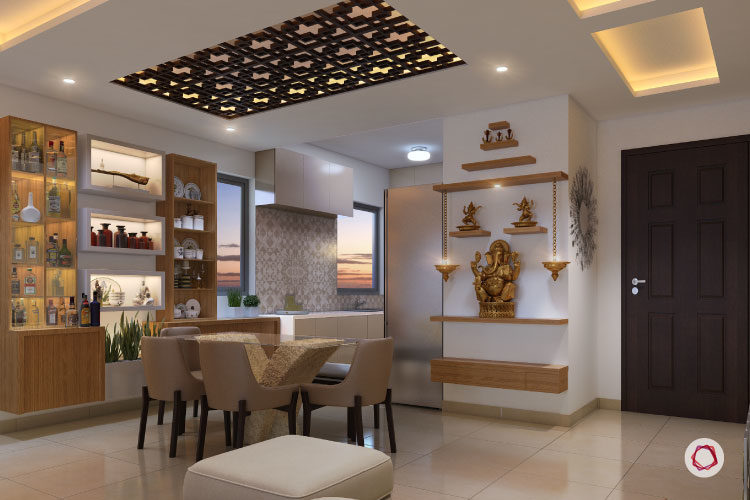 wonderful low ceiling living room ideas | 6 False Ceiling Ideas For The Fifth Wall