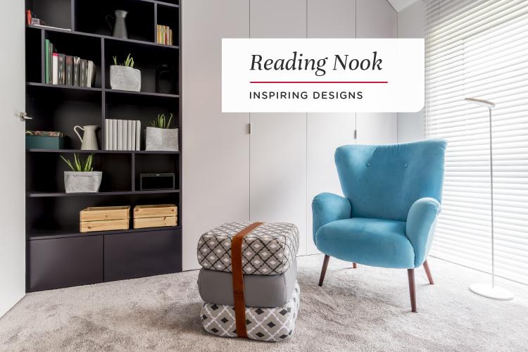 6 Beautiful Reading Corner Designs