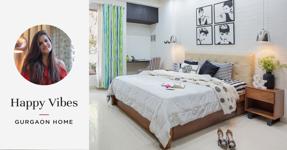 This 4BHK in Gurgaon is a Visual Treat